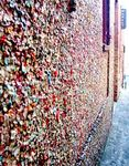 Title: gum wall