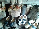 Title: Dutch Wooden Clogs