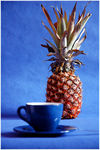 Title: Cup with pineapple