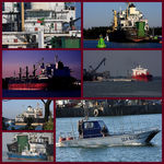 Title: Collage of ships.Canon Digital EOS 40D