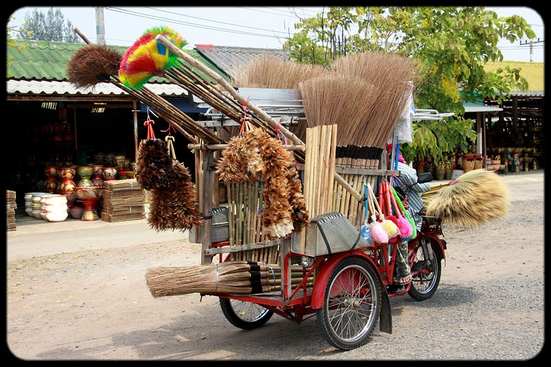 Broom Vendor.