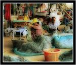 Title: Repairing the Nets......Canon EOS400D