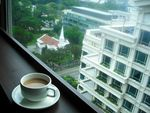 Title: Tea and Window view