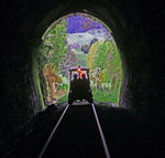 Title: Rail tunnel emergence