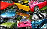 Title: Collage of cars