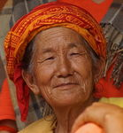 Title: Old Nepalese WomanSony alpha 77