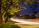 Title: Highway in the night