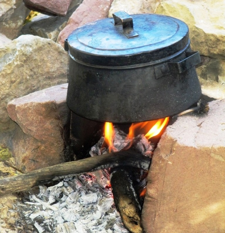 Traditional cooking food