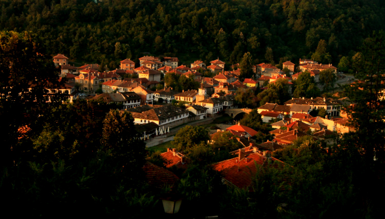 Tryavna from Above