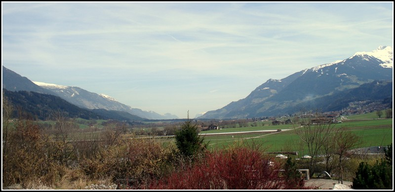 PANAROMIC VIEW OF THE ALPS