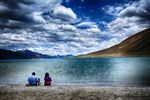 Title: 2 by Pangong Lake - LadakhNikon D7100
