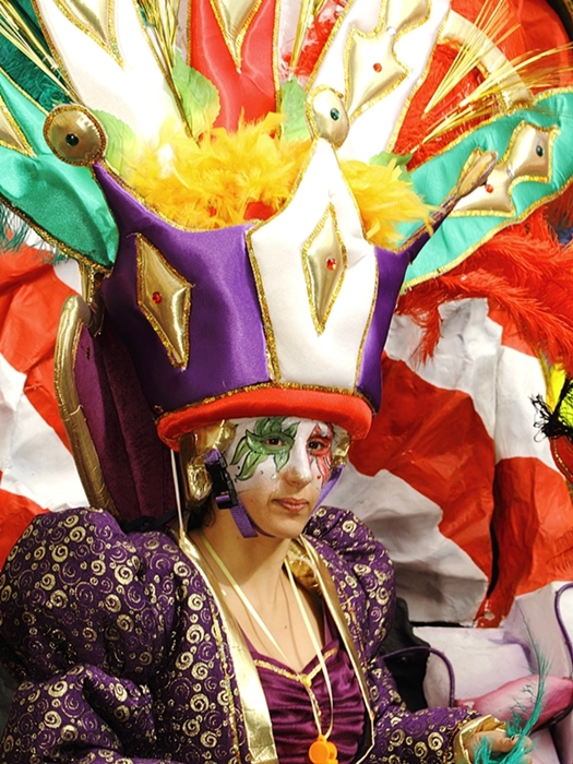 Face of carnival