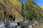 Title: Sandymouth Waterfall