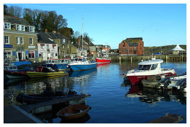 A cold day in Padstow