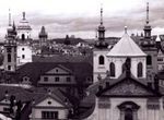 Title: Prague rooftops