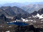Title: Deniz Lake from 3936 m