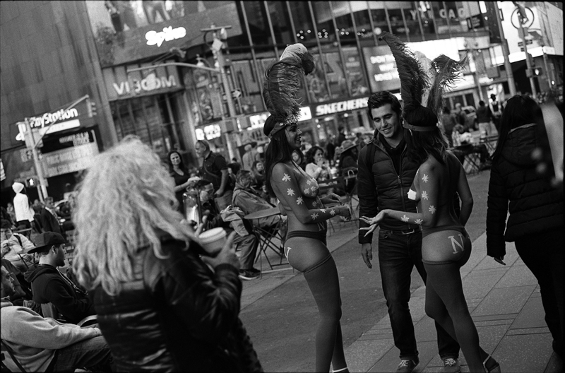 NYC, Times Square, Fall 2015