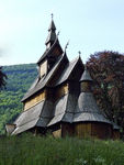 Title: STAVE CHURCH