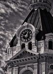 Title: Parke County Courthouse TowerCanon EOS 5D