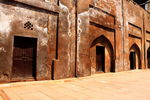 Title: Inside Agra Red Fort
