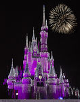 Title: Cinderella Castle - Christmas 2011