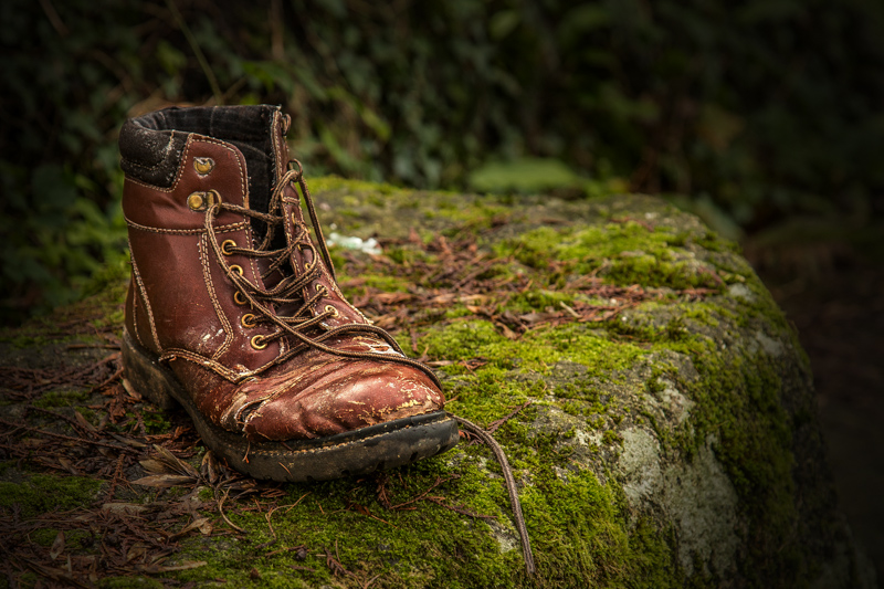 A Discarded Boot
