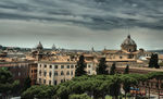 Title: rooftops of Rome