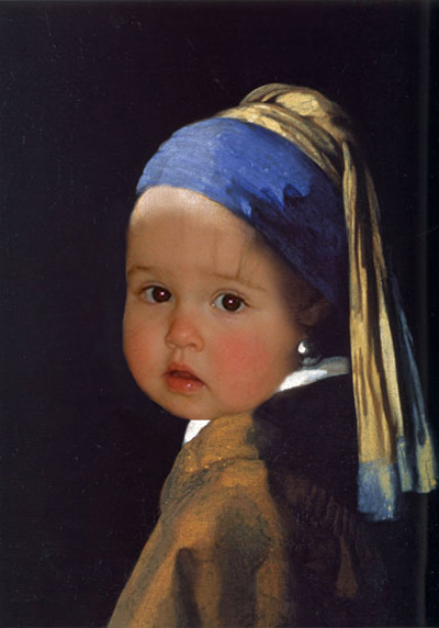 Fien with a Pearl Earring