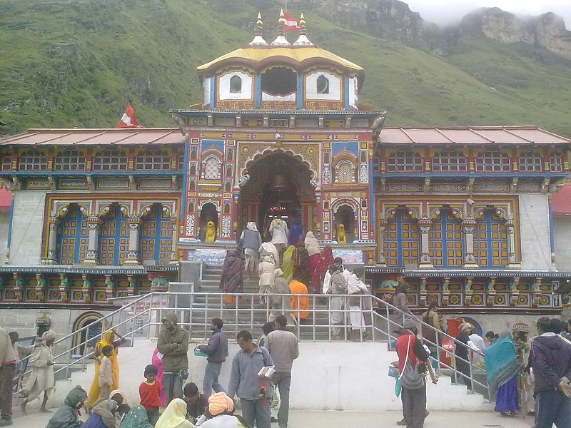 The Great Badrinath Temple