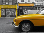 Title: Yellow Car