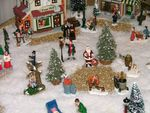 Title: my Christmas village