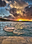 Title: Cesme in Sunset