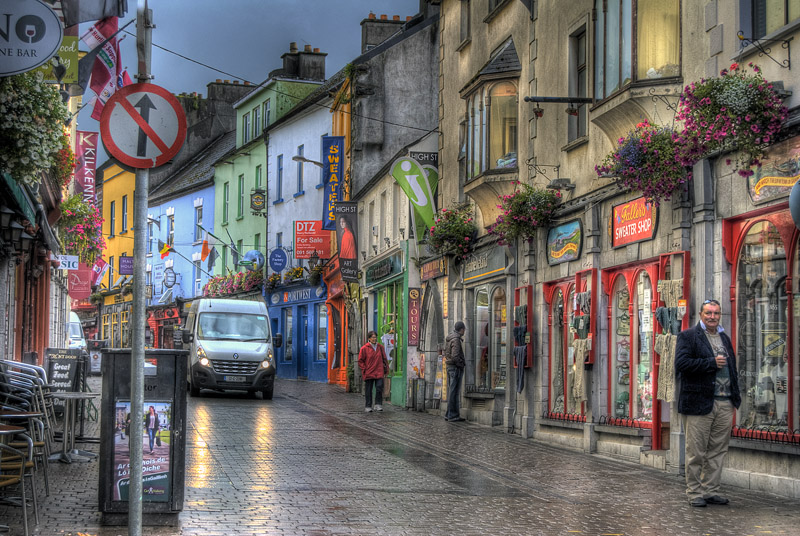 Rainy day in Galway