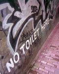 Title: Toilet free Alley