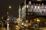 Title: Rue Notre-Dame in Old Montreal