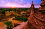 Title: Sunrise over Bagan
