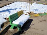 Title: Snowy BenchCanon PowerShot A2200