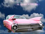 Title: my dentist's pink caddy