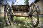 Title: Old Cart