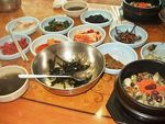 Title: Typical Korean meal