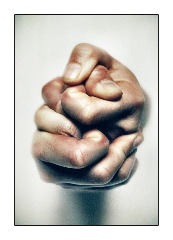 Fingers entangled in Anxiety or Fear?