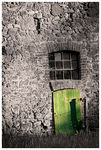 Title: *Take the green door*Canon EOS 20D