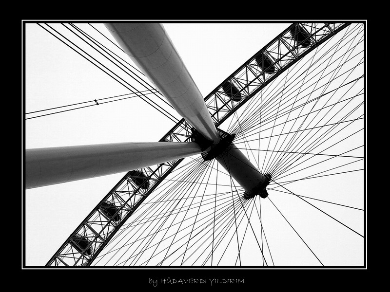 DIFFERENT LOOK TO LONDON EYE