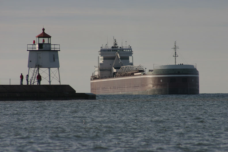 Arriving Two Harbors