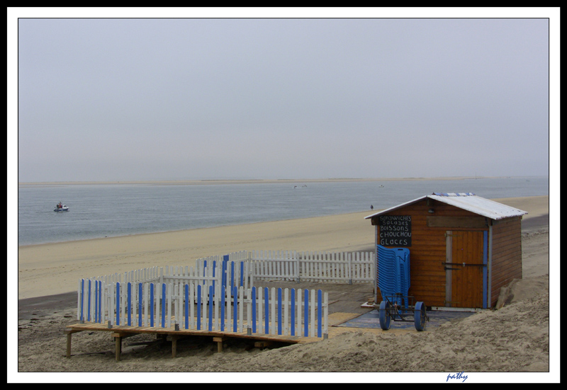 The Hut of the beach