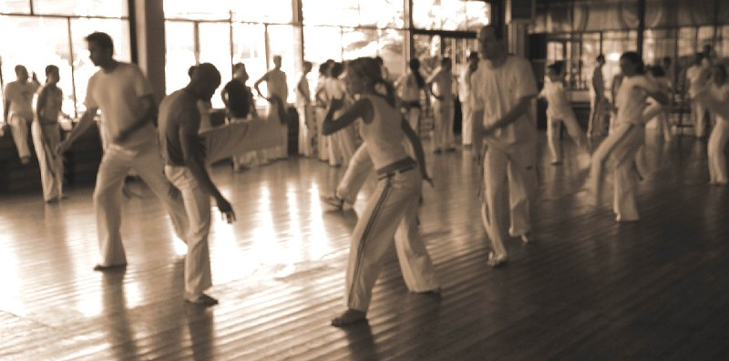 Lesson of Capoeira