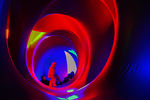 Title: Cyclone of colours