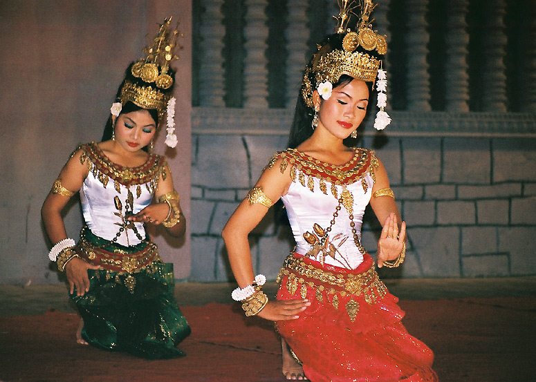 Apsara Dancers in Siem Reap