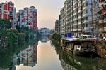 Title: Sunset over Wuxi