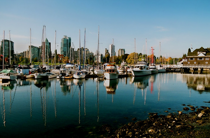 Yachts at Stanley Park
